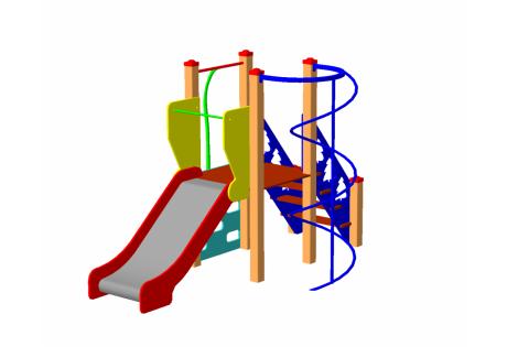 Детский игровой комплекс ДИК-40