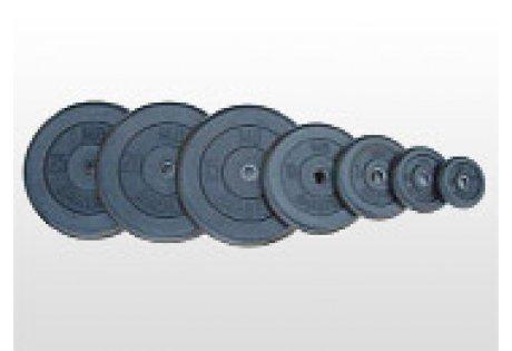 Диск для штанги обрезиненный «Orion» 0,5 кг