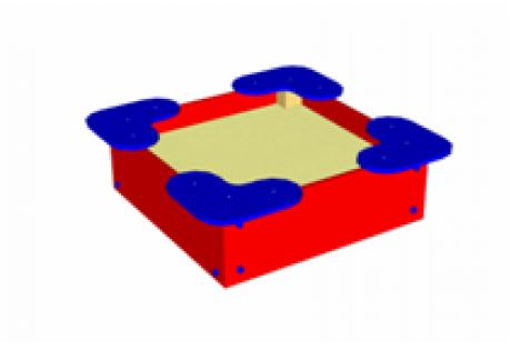 Песочница малая «Квадрат»