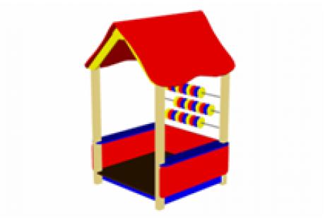 Домик-беседка «Счеты»