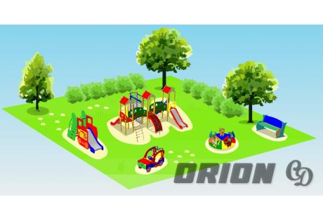 Детская игровая площадка «Праздник»