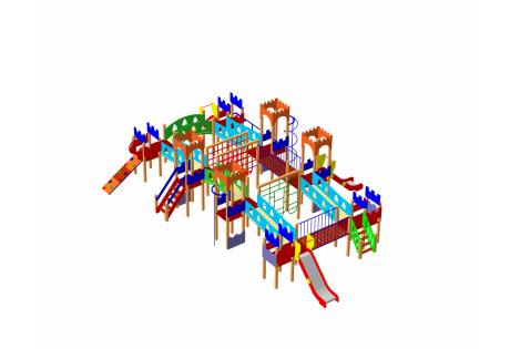 Детский игровой комплекс ДИК-23