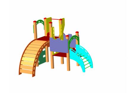 Детский игровой комплекс ДИК 1.07.М