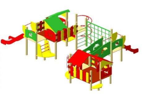 Детский игровой комплекс ДИК-17 «Тропики»