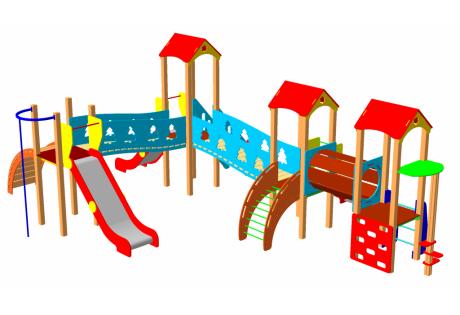Детский игровой комплекс ДИК-30