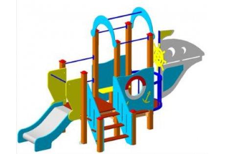 Детский игровой комплекс ДИК «Кораблик»