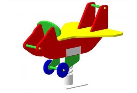 Качалка на пружине «Самолет»