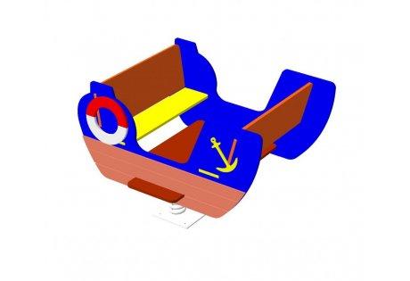 Качалка на пружине «Кораблик»