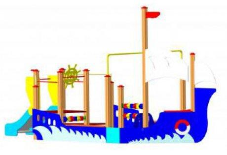 Детский игровой комплекс «Корабль» ДИК 28
