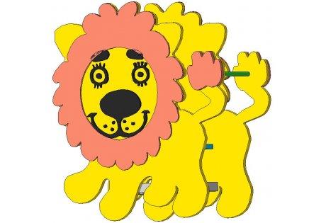 Качалка на пружине «Львёнок»