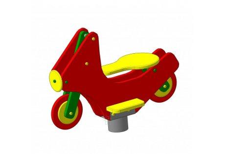 Качалка на пружине «Мотоцикл»