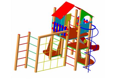 Детский игровой комплекс ДИК-66