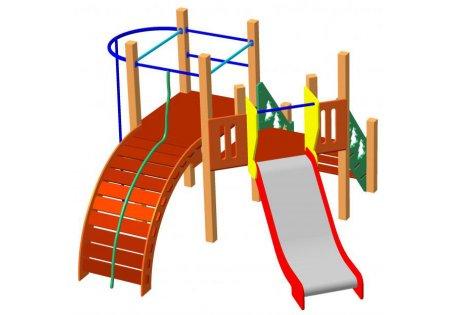 Детский игровой комплекс ДИК-63
