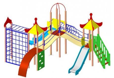 Детский игровой комплекс ДИК-25
