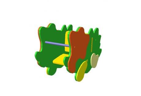 Качалка на пружине «Динозаврик»
