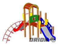 Детский игровой комплекс ДИК 68
