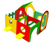Домик-лабиринт