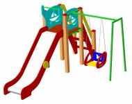 Детский игровой комплекс ДИК-38