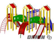 Детский игровой комплекс ДИК-57