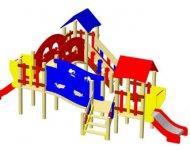 Детский игровой комплекс ДИК-18 с перилами