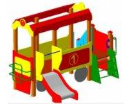 Детский игровой комплекс «Вагончик»