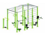 Спортивный гимнастический комплекс с тренажерами Арт.СК3007