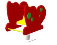 Качалка на пружине «Бабочка»
