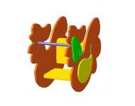 Качалка на пружине «Петушок»