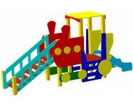 Детский игровой комплекс «Паровоз с горкой»   ДИК 60